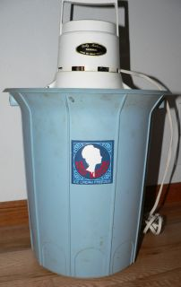 Vintage Dolly Madison H Porter Electric Ice Cream Maker