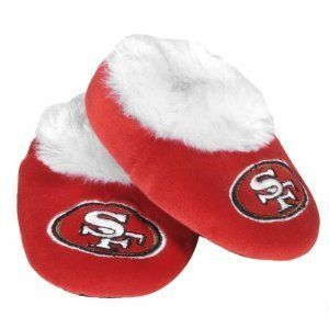 49ers NFL Football Logo Baby Bootie Slippers Shoes Choose Size