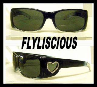 BONO AUTH BLACK FLYS FLYLISCIOUS SUNGLASSES BLACK