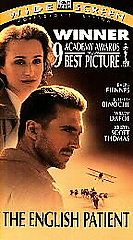 The English Patient VHS, 1997, 2 Tape Set, Widescreen Version