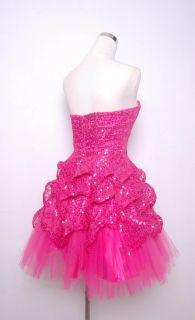 Betsey Johnson Evening Sugar & Spice Dress Size 6 Pink