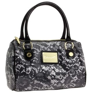 Betseyville Black White Dress Me Up Satchel White
