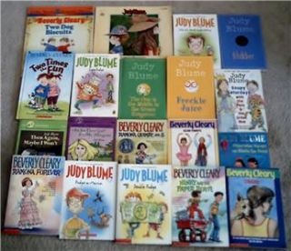 ramona judy blume cleary goddess girls more book set lot 53 total free shipping