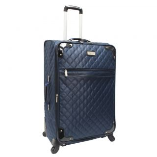 Beverly Hills Country Club 29 Quilted Expandable Spinner Luggage