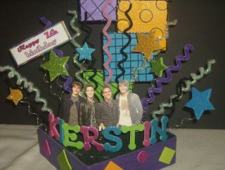 Big Time Rush Cake Topper Center Piece Party Supplies