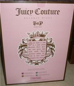 doll juicy couture barbie gift set nip