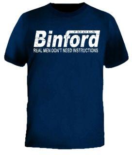 New BINFORD Tools Hammer Time Improvement Home T Shirt