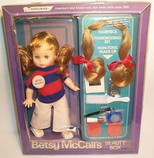Betsy McCall Beauty Box 9912 1974 Horsman
