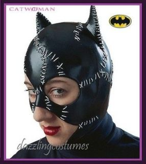 offical catwoman costume mask batman returns michelle pfeiffer