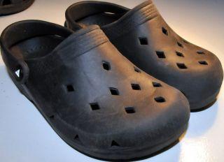 AIRWALK Black Sandals Youth Big 2 1 2 Shoes Clog Mens 2 5 Boys Girl