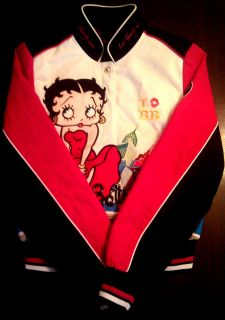 Hard to Find Cotton Betty Boop Jacket Marilyn Monroe Pose Authentic