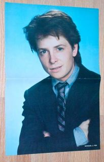Bill Cosby Show Poster Pin Up clipping Michael J Fox 84
