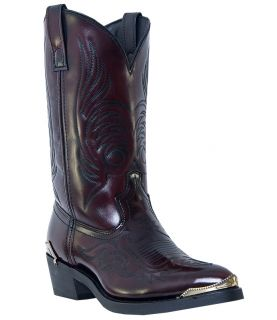 Mens Dingo Asphalt Cowboy Boots Tamaro Leather E w Narrow Toe Black
