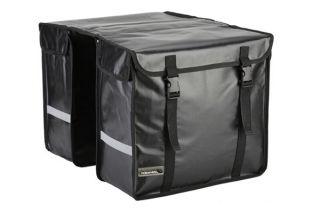 New Cycling Bike Bicycle Rear Seat Pannier Bag Pouch Black Waterproof