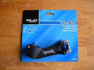 Stem 1 1 8 25 4mm x 110mm x 40° Black Bike Bicycle Stem New