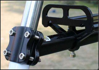 New Black Road Bike Bicycle Seat Post Beam Rear Rack