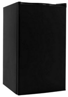 New Haier 4.0 cu. ft. Black Compact Mini Refrigerator & Freezer Dorm