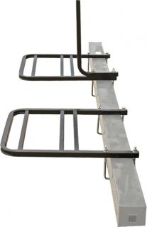 Airstream RV Travel Trailer Bumper Mounted 2 Bicycle Bike Carrier Rack