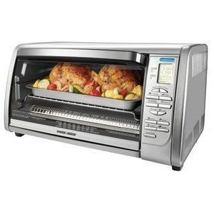 Black & Decker CTO6335S Stainless Steel Countertop Convection Oven New