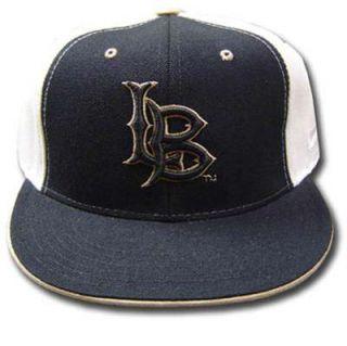 NCAA Fitted Cap Hat Flat Bill Long Beach 49ers 7 1 4
