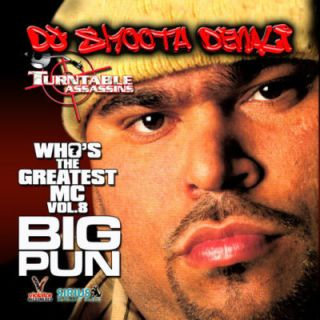 DJ Smooth Denali Greatest MC 8 Big Pun Classic Mix CD