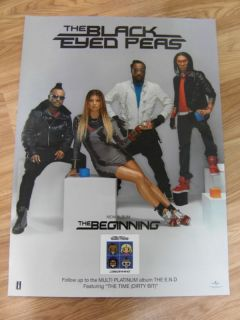 Black Eyed Peas The Beginning Original Poster