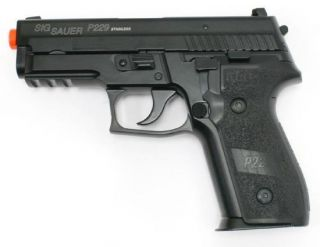 Cybergun Sig Sauer P229 Gas Blow Back GBB All Metal Airsoft Pistol