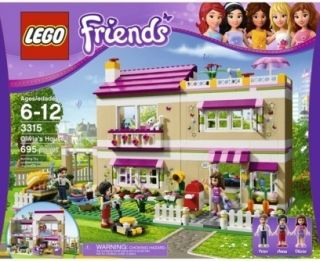 Lego Friends 3315 Olivias House New in Box Large Lego Set