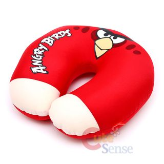 Rovio Angry Birds Red Bird Neck Rest Pillow Cushion Auto Accessories 2
