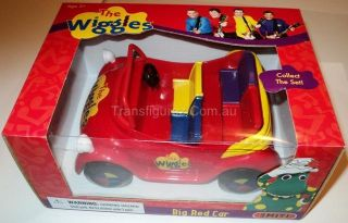 The Wiggles Action Figures Toy Big Red Car Smiti MISB