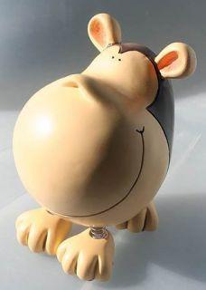 Spring Leg Big Head Monkey Piggy Bank Money Coins Funky Toys for