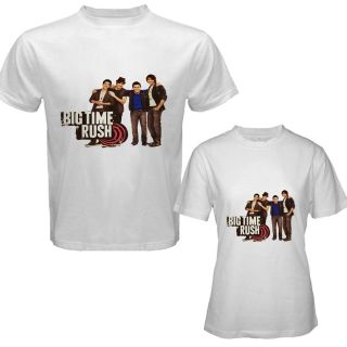 001 Big Time Rush CD Music Tour 2012 T Shirt Size s M L XL