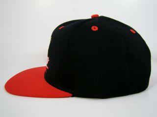 Chicago Blackhawks Snapback Hat Black Cursive Logo Patrick Kane Reebok