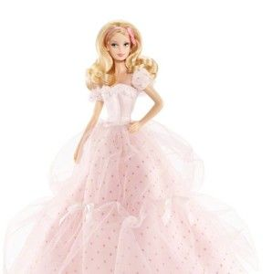 Barbie 2012 Barbie Birthday Wishes Blond Doll Collector