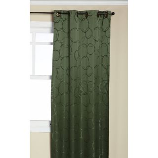 Sage Green Blackout Grommet Window Panel Curtains