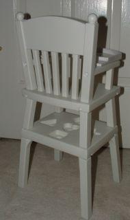 Bitty Baby American Girl Doll High Chair