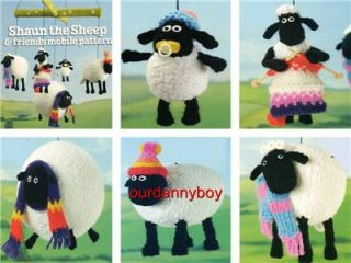 Alan Dart Toy Knitting Pattern Wallace Gromit Shaun The Sheep Friends