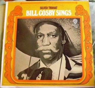 Bill Cosby Sings Silver Throat LP Record