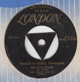 Bill Haley 1955 Gold Tri London Ten Little Indians