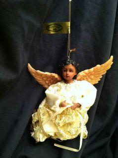 Mark Roberts Collection Christmas Ornament Black Angel