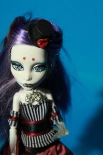 Spectra Vondergeist Custom Doll Black Circus Freak Gothic OOAK