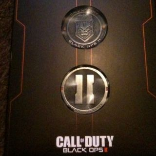 Call of Duty Black Ops 2 Xbox 360 Hardened Edition Challenge Coins