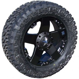 18 Black XD Wheels Nitto Trail Grappler LT295 70R18 6x135 6x5 5 Ford