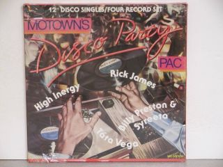 Disco Party Factory SEALED Box Billy Preston R James Mint New