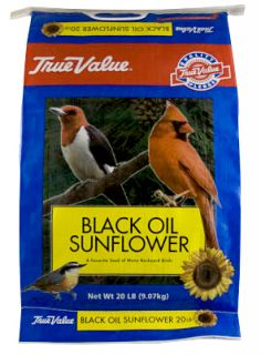 Red River 50060 Black Oil Sunflower Bird Seed 20lb