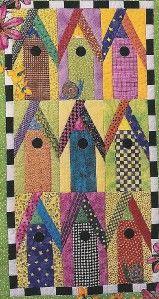 birdhouses of key west quilt pattern