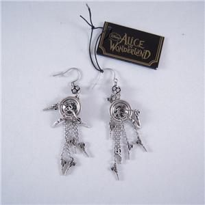 Tom Binns for Disney Couture Button Earring w Charm