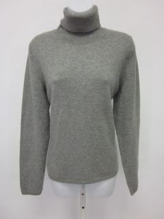 Bloomingdales Sutton Studio Cashmere Gray Sweater Sz XL