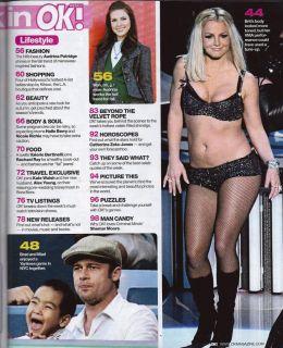 Angelina Jolie Dannielynn Birkhead Britney Spears September 24 2007 OK