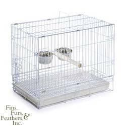Prevue Pet Products White Travel Cage for Large Birds